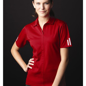 Golf Ladies' ClimaLite® Three-Stripe Cuff Polo