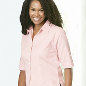 Ladies' Half Sleeve Cotton Twill Shirt