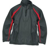 Pro Heather Fusion Performance Fleece Quarter-Zip Pullover