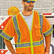 Ultra-Cool™ Six-Pocket Mesh Surveyor's Vest